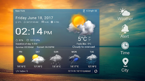 Real-time weather forecasts v16.6.0.6365_50185 screenshots 7