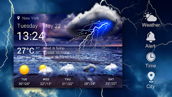 Real-time weather forecasts v16.6.0.6365_50185 screenshots 8