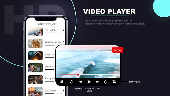 SX Video Player – Full Screen Video Player v1.15 screenshots 1
