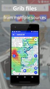 SailGrib Weather Routing Free v6.5 screenshots 1
