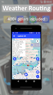 SailGrib Weather Routing Free v6.5 screenshots 2