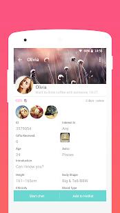 SayHi Chat Meet New People v8.53 screenshots 3