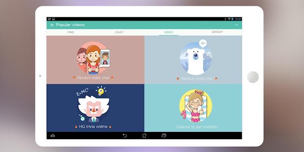 SayHi Chat Meet New People v8.53 screenshots 6