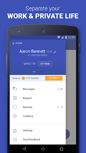 Second Phone Number private texting amp calling app v1.8.0 screenshots 2