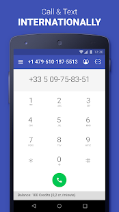 Second Phone Number private texting amp calling app v1.8.0 screenshots 3