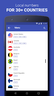 Second Phone Number private texting amp calling app v1.8.0 screenshots 5