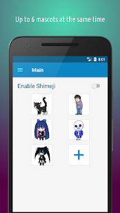 Shimeji v4.1 screenshots 2