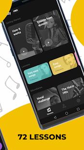Singing app Vocaberry. Vocal training. Karaoke v2.22.2GMS screenshots 2