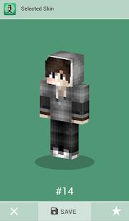 Skins for Minecraft PE v1.4 screenshots 11