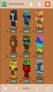 Skins for Minecraft PE v1.4 screenshots 2