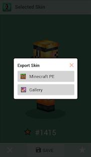 Skins for Minecraft PE v1.4 screenshots 4
