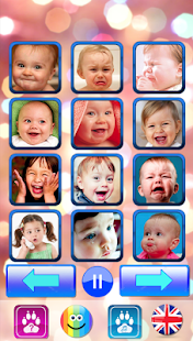 Sound for kids. Baby touch sound. Laugh amp cry v2.5 screenshots 1