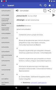 Spanish Dictionary – Offline v6.0-65as screenshots 10