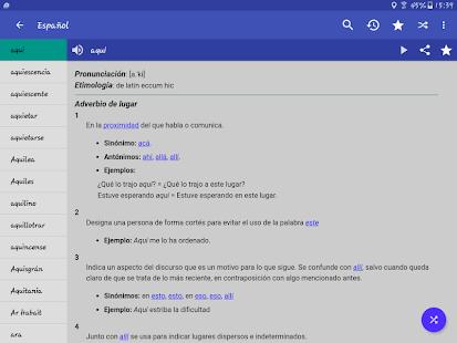 Spanish Dictionary – Offline v6.0-65as screenshots 13