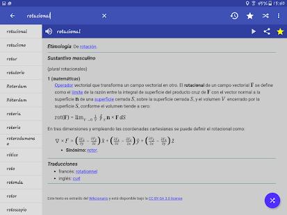 Spanish Dictionary – Offline v6.0-65as screenshots 14