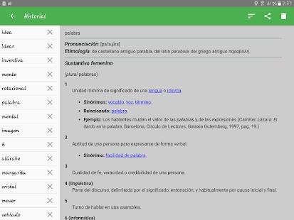 Spanish Dictionary – Offline v6.0-65as screenshots 15