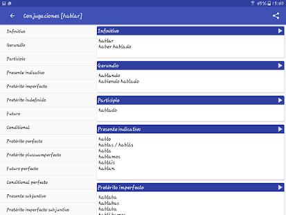 Spanish Dictionary – Offline v6.0-65as screenshots 16