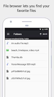 Stealth Audio Player – play audio through earpiece v29 screenshots 6