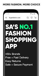 Superbalist.com The No.1 Online Shopping App v3.15.2 screenshots 1