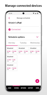 T-Mobile Internet v2.4 screenshots 2