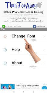 TTA Mi Myanmar Font Lite v5222021 screenshots 1