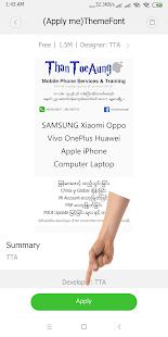 TTA Mi Myanmar Font Lite v5222021 screenshots 7