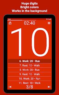 Tabata Timer Interval Timer Workout Timer HIIT v5.2.2 screenshots 10