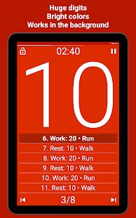 Tabata Timer Interval Timer Workout Timer HIIT v5.2.2 screenshots 18
