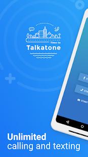 Talkatone Free Texts Calls amp Phone Number v6.5.2 screenshots 1