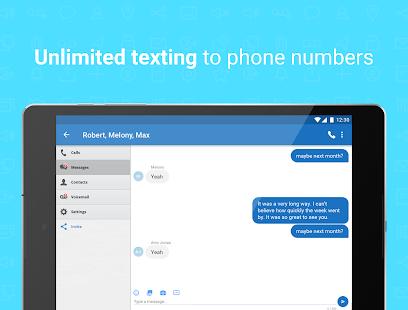 Talkatone Free Texts Calls amp Phone Number v6.5.2 screenshots 11