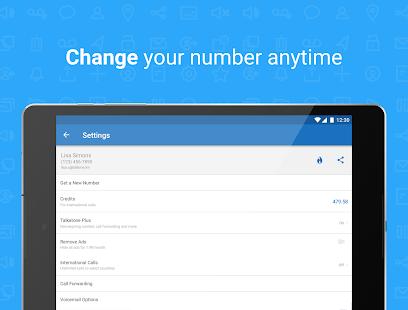 Talkatone Free Texts Calls amp Phone Number v6.5.2 screenshots 12