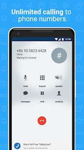 Talkatone Free Texts Calls amp Phone Number v6.5.2 screenshots 6