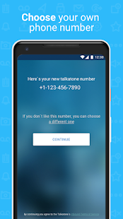Talkatone Free Texts Calls amp Phone Number v6.5.2 screenshots 7