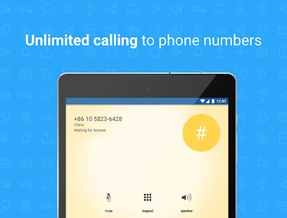 Talkatone Free Texts Calls amp Phone Number v6.5.2 screenshots 8