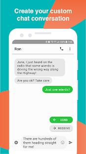 Text Message Creator v6.12 screenshots 1
