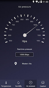 Thermometer – Hygrometer amp Ambient Temperature app v1.9.2 screenshots 3