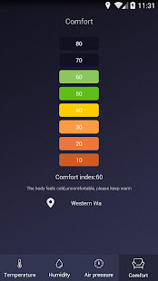 Thermometer – Hygrometer amp Ambient Temperature app v1.9.2 screenshots 4