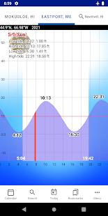 Tide Chart v2.3 screenshots 1