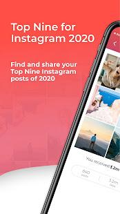 Top Nine for Instagram – Best of 2020 v4.0.5 screenshots 1