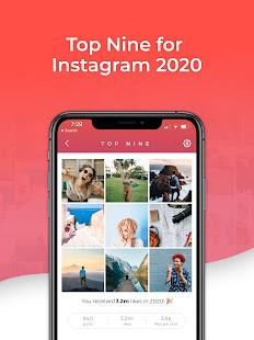 Top Nine for Instagram – Best of 2020 v4.0.5 screenshots 4