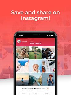 Top Nine for Instagram – Best of 2020 v4.0.5 screenshots 6