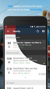 Transit Now – TTC Toronto MBTA AC Transit SFMTA v4.0.1 screenshots 1