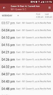 Transit Now – TTC Toronto MBTA AC Transit SFMTA v4.0.1 screenshots 7