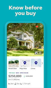 Trulia Real Estate Search Homes For Sale amp Rent v12.8.0 screenshots 1