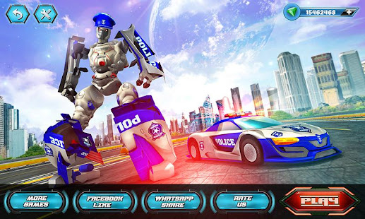 US Police Robot Car Revenge v1.3 screenshots 1