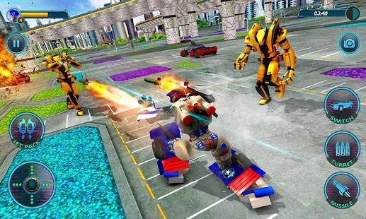 US Police Robot Car Revenge v1.3 screenshots 4
