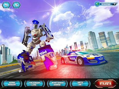 US Police Robot Car Revenge v1.3 screenshots 6