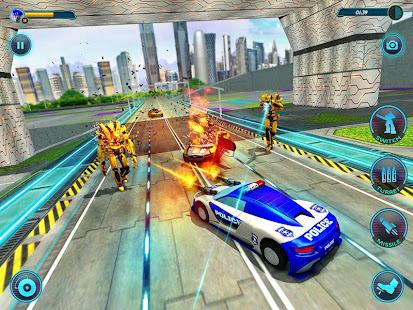 US Police Robot Car Revenge v1.3 screenshots 7