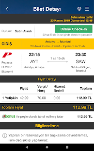 Ucuzabilet – Flight Tickets v3.1.8 screenshots 15