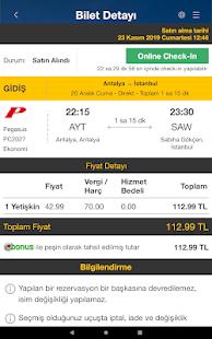 Ucuzabilet – Flight Tickets v3.1.8 screenshots 23